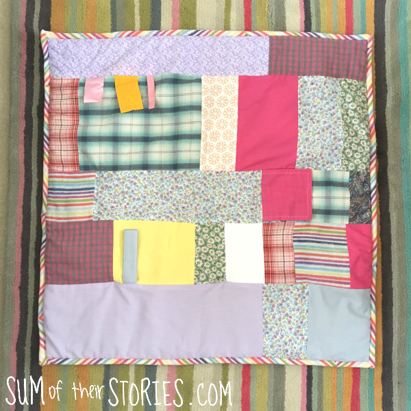 how to make a play mat