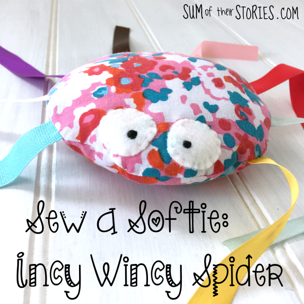 Sew a softie incy wincy spider
