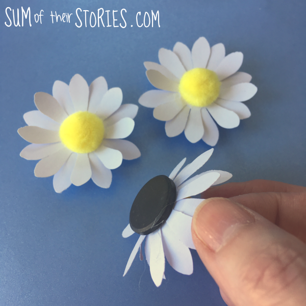 Daisy fridge magnets