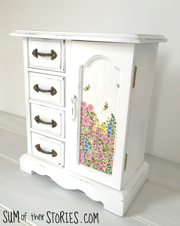 Jewellery box makeover