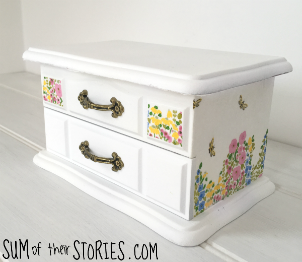 refashioned jewellery box