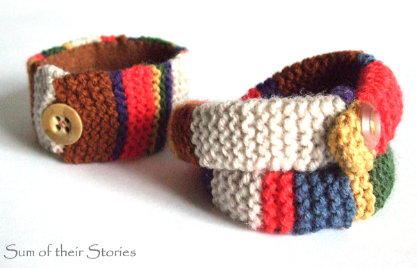 Doctor Who Scarf Bracelets Sum Of Their Stories