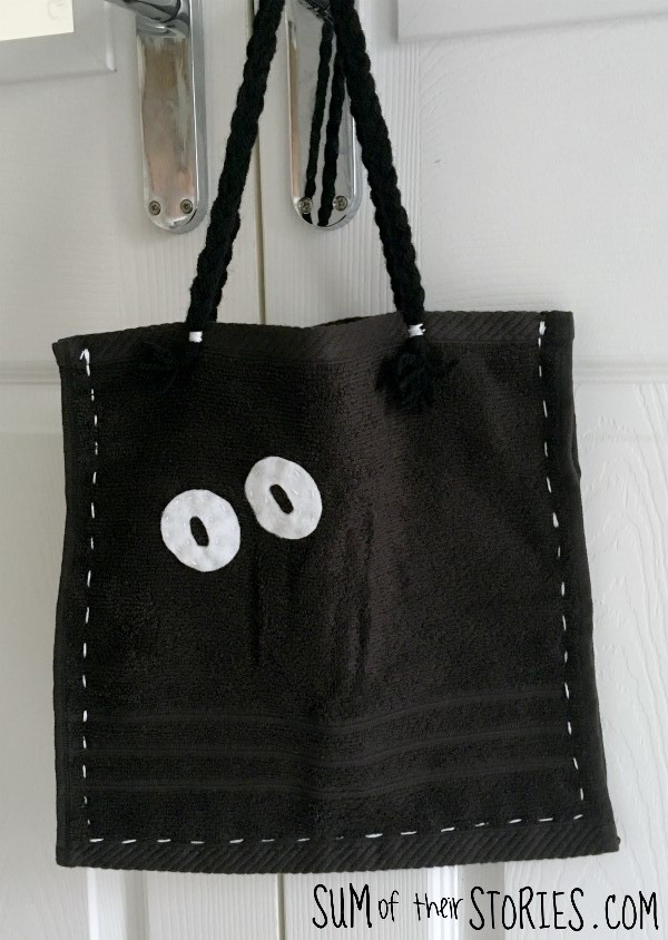 Halloween eyes bag