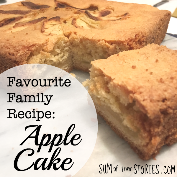 family favourite recipe apple cake