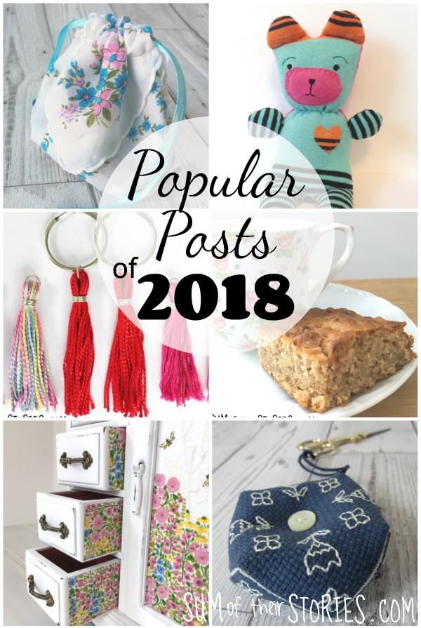 popular craft tutorials of 2018