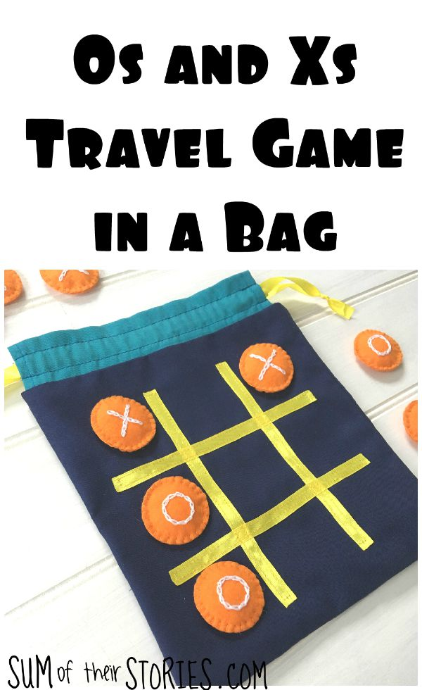 Tic Tac Toe travel bag