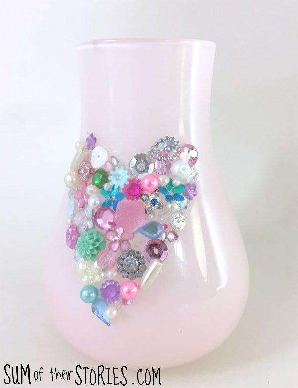 jewel vase tutorial