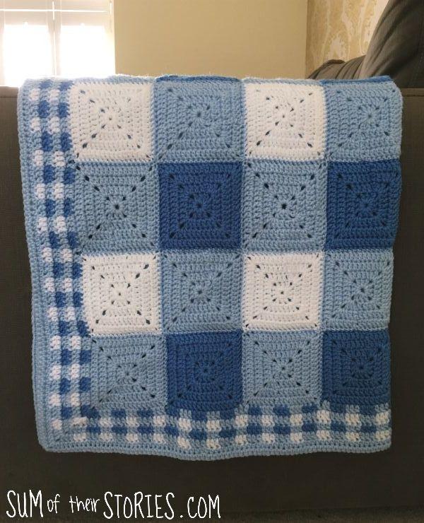 gingham blanket for baby