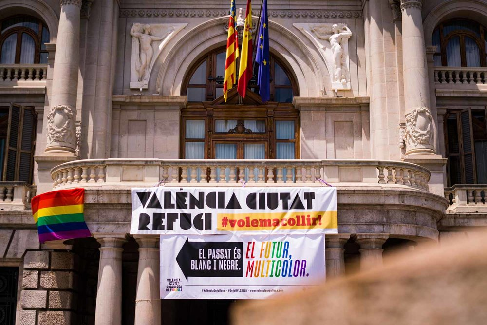 El Ayuntamiento de Valencia celebra el Orgullo #ElFuturMulticolor