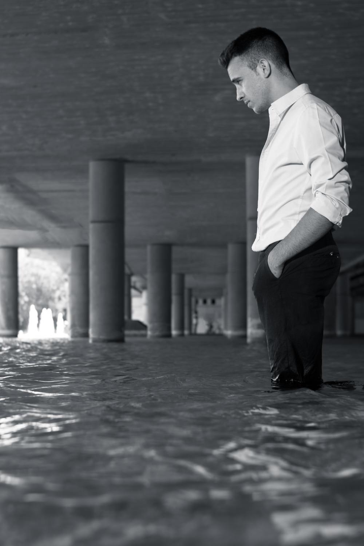 Modelo masculino sesión de fotos en Valencia