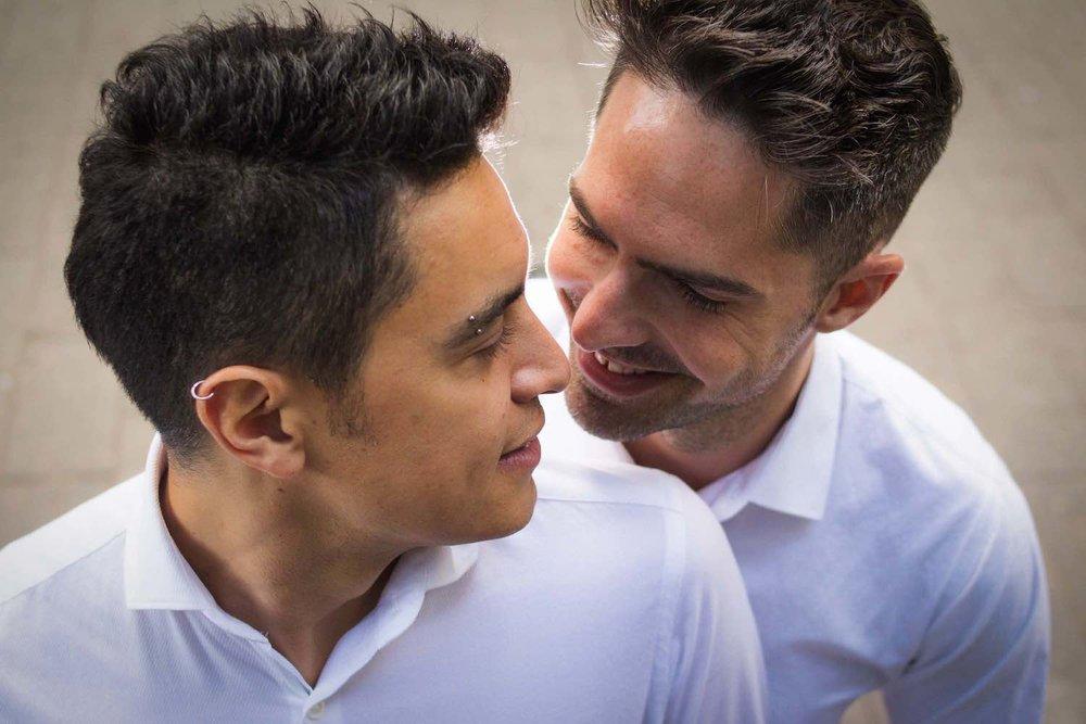 sesión de novios boda gay 5050 fotografos