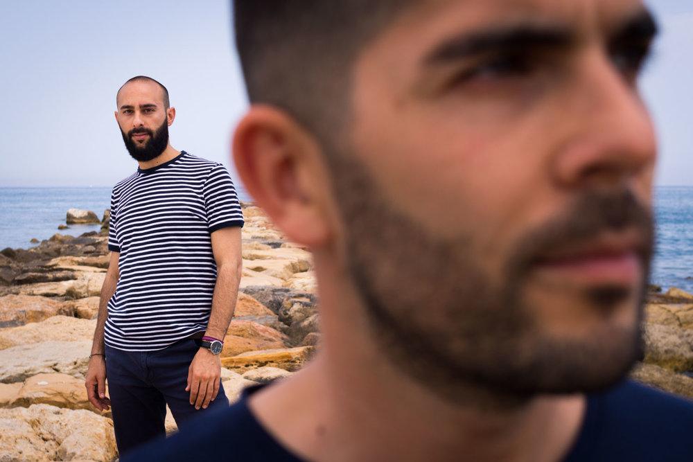 sesión de fotos para pareja gay