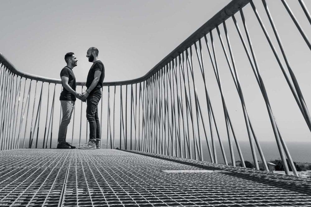 sesión fotográfica de novios en Alicante