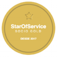 Sello Gold StarOfService