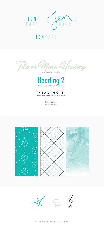 full branding style guide design