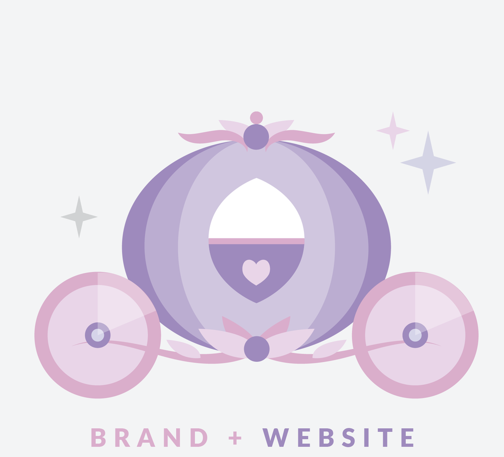 BIBBIDI BOBBIDI - The Bibbidi Bobbidi Bundle is an 8 week branding and web design package that visually overhauls your business so you can solidify your brand and look like the expert you are. Finally ditch the hobbyist look and get a brand and website that screams