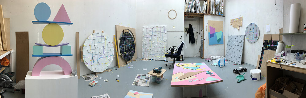 Olly Fathers studio space