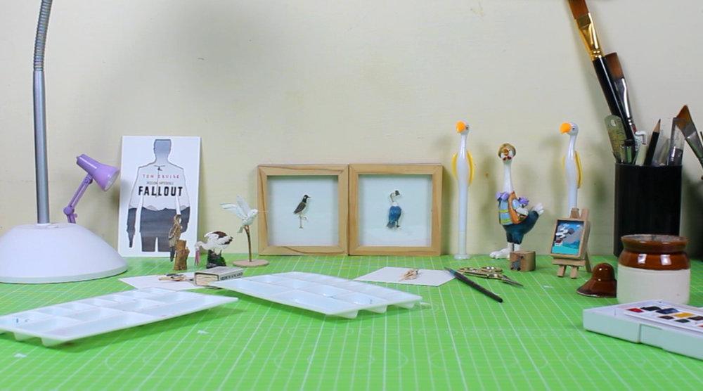 NV illustration paper cutting art