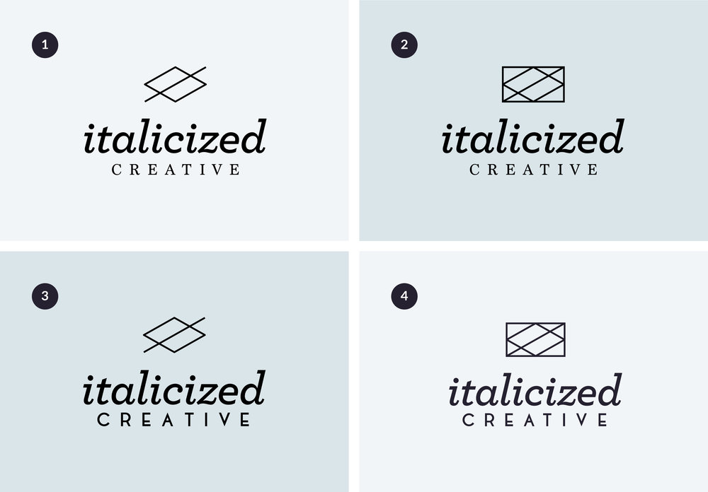 logo brand design process