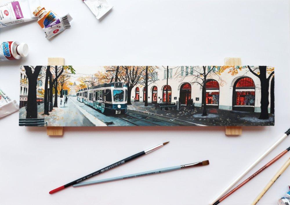 Fine artist spotlight painter