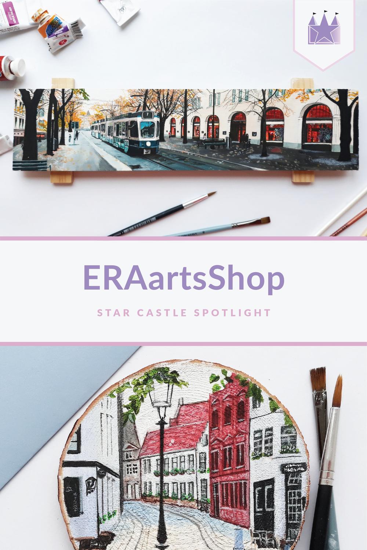 ERAartsShop artist spotlight illustration drawing painting
