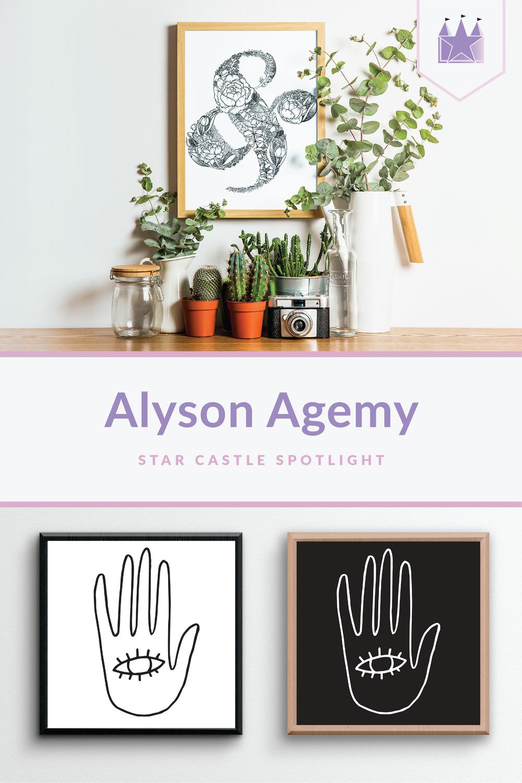 Alyson Agemy artist spotlight illustration drawing