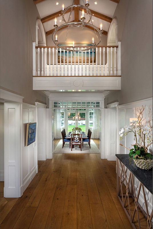 Hamptons Shingle Style DINING ROOM by Oatman Architects
