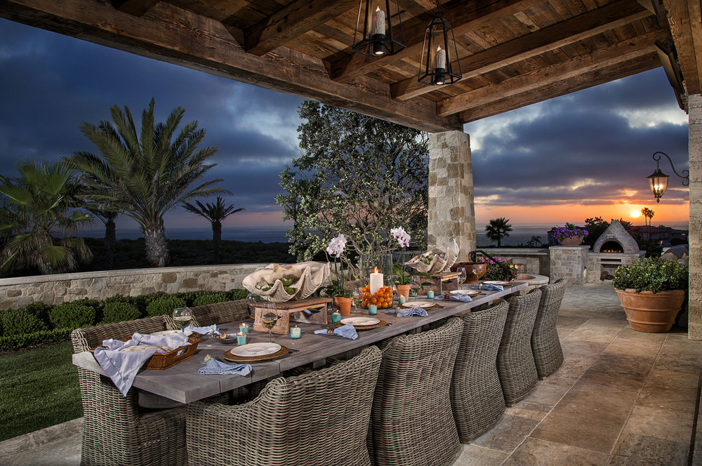 STRAND BEACH - ROMANESQUE OUTDOOR DINING BY OATMAN ARCHITECTS