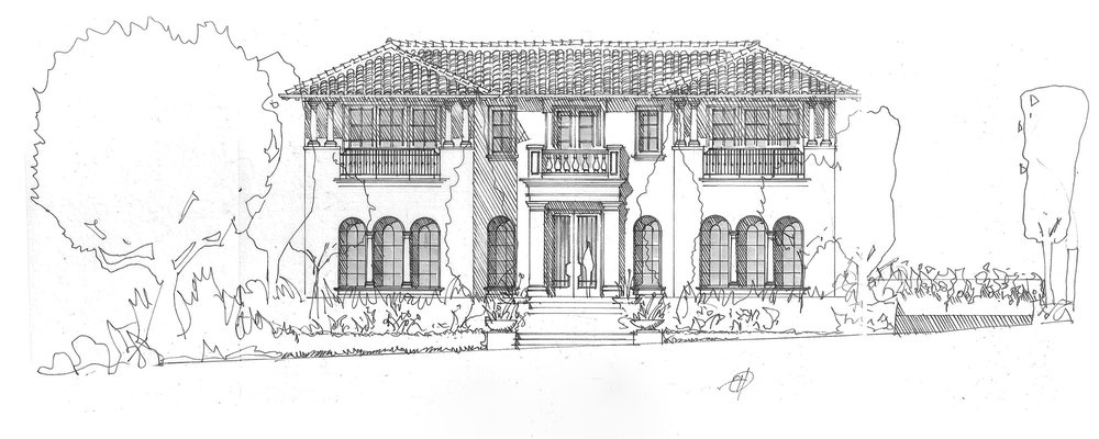 CORONA DEL MAR - TUSCAN KITCHEN by Oatman Architects
