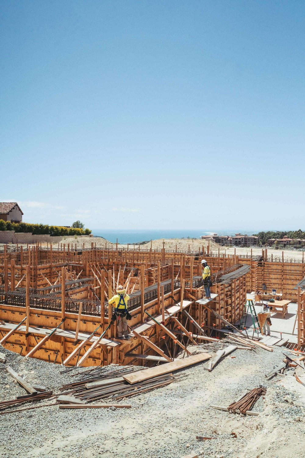 Crystal Cove Romanesque Villa Progress Image by Oatman Architects