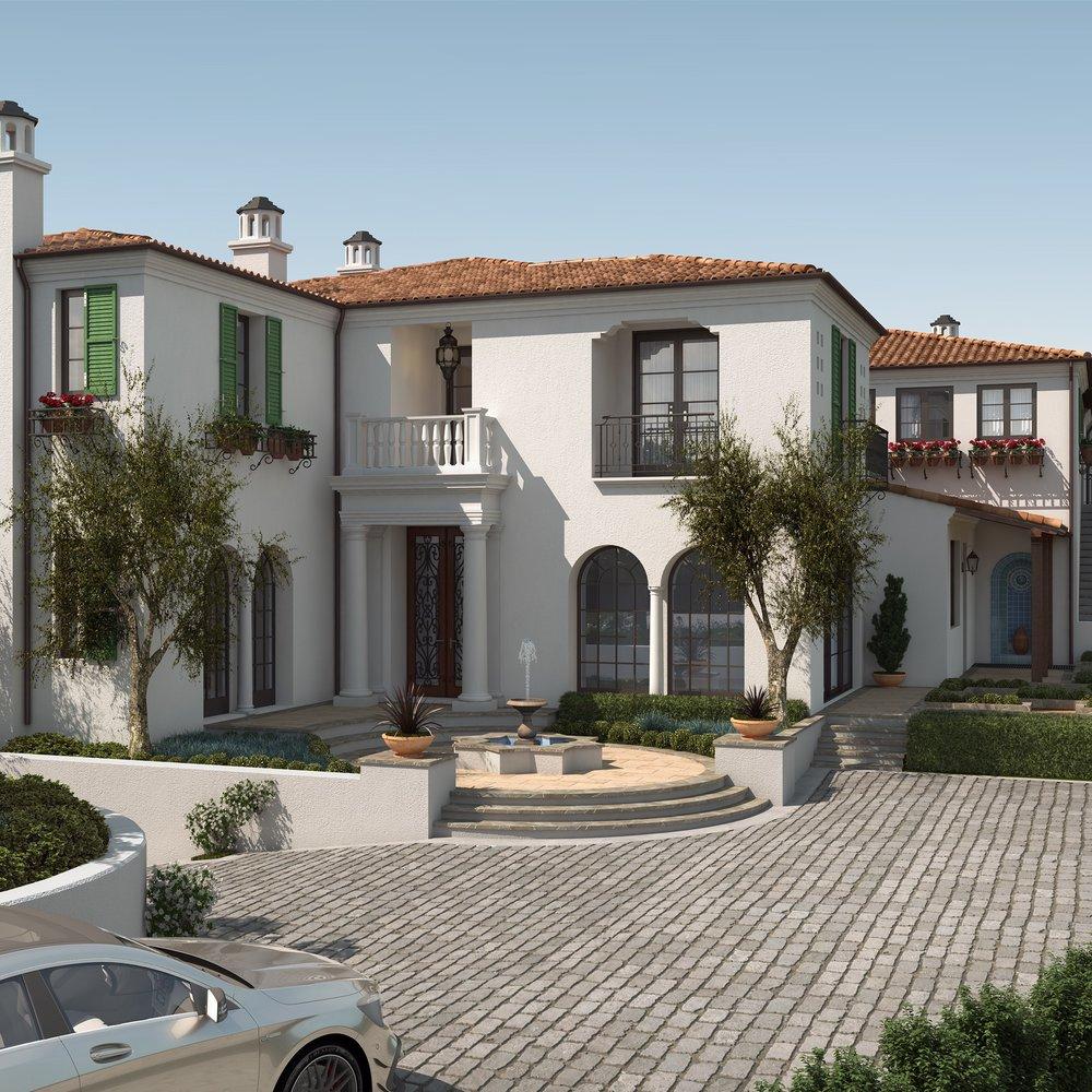 Crystal Cove - Santa Barbara Style