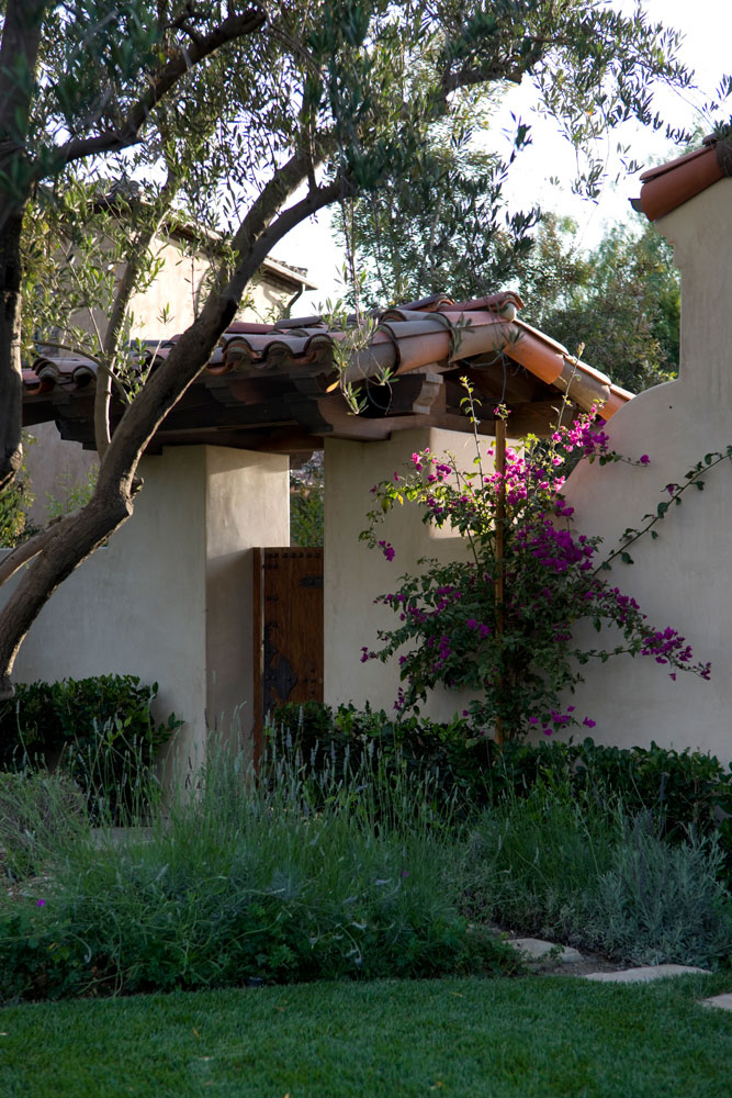Shady Canyon - Andalusian Revival Door by Oatman Architects
