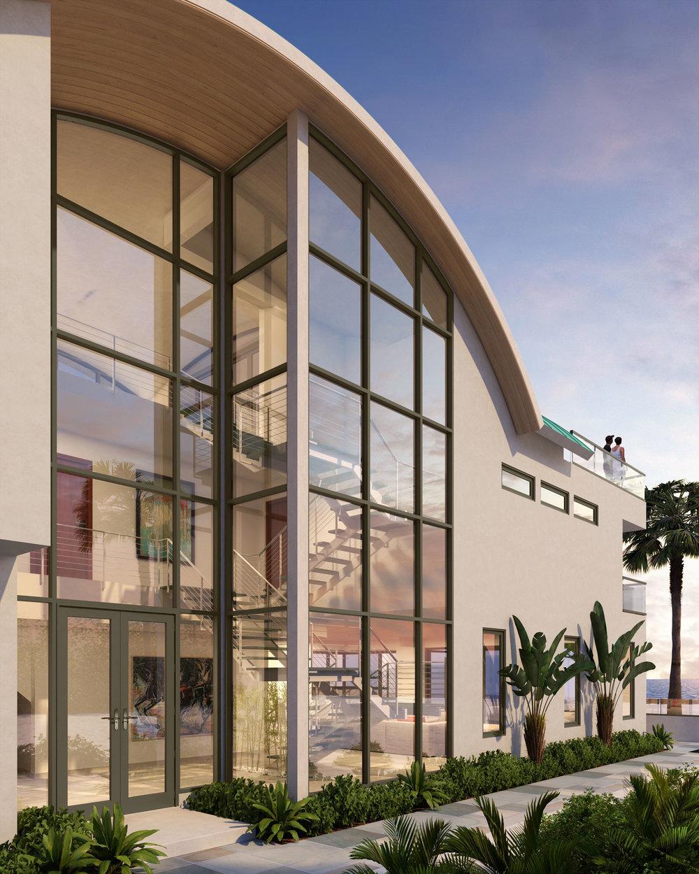 Newport Beach - Contemporary Beach House Exterior by Oatman Architects