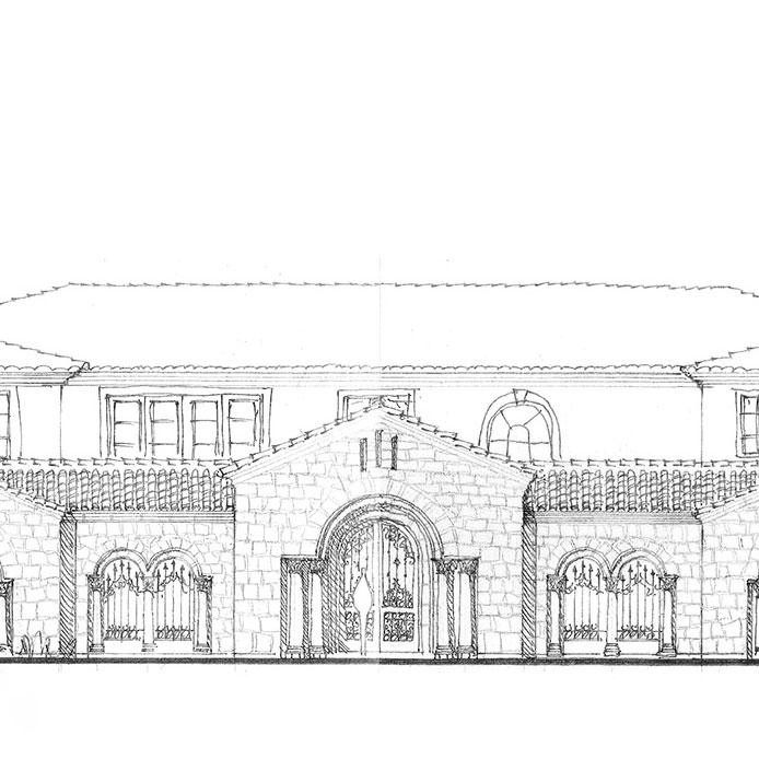 Crystal Cove - Romanesque Villa