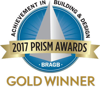 2017 PRISM Gold Winner Shutter Dog Design