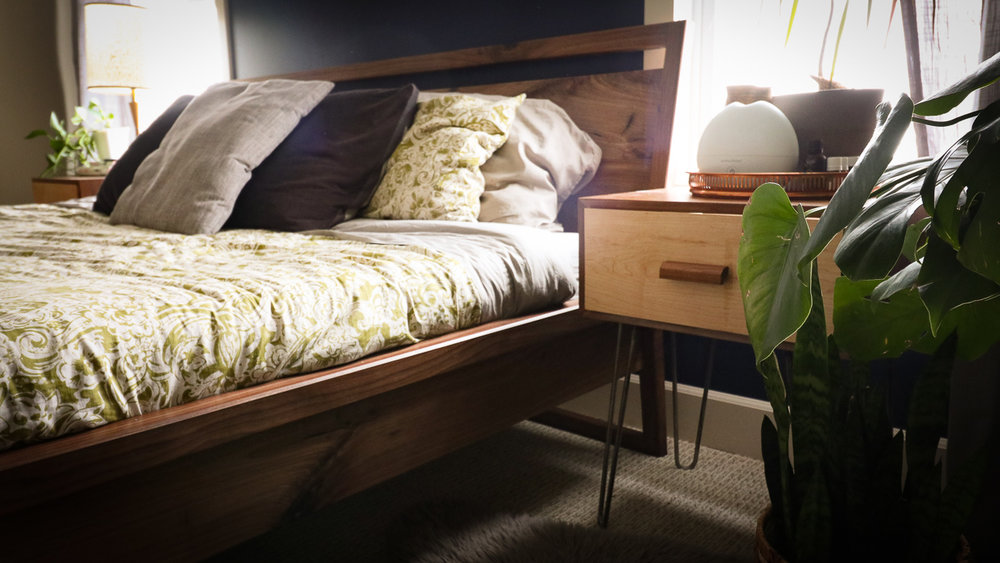 Image of: Diy Mid Century Modern Inspired Sleigh Bed Haven Canada