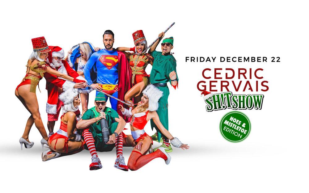 Cedric Gervais - Fri. Dec 22nd