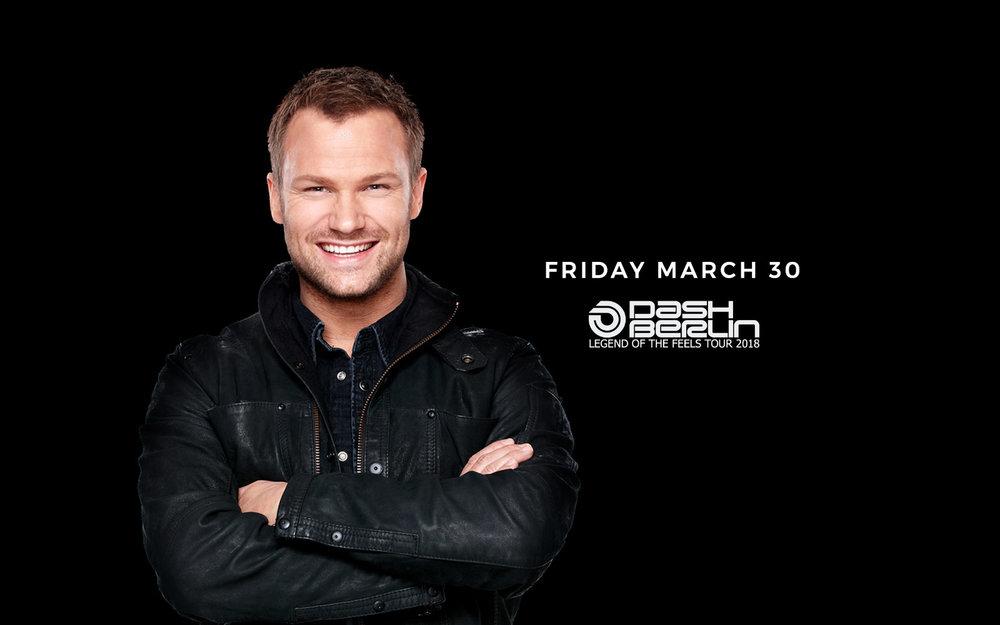 Dash Berlin - Fri. March 30th