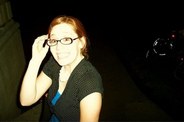 Oldest picture I could find at the moment. Here I'm about 23/24. Once a goober, always a goober.