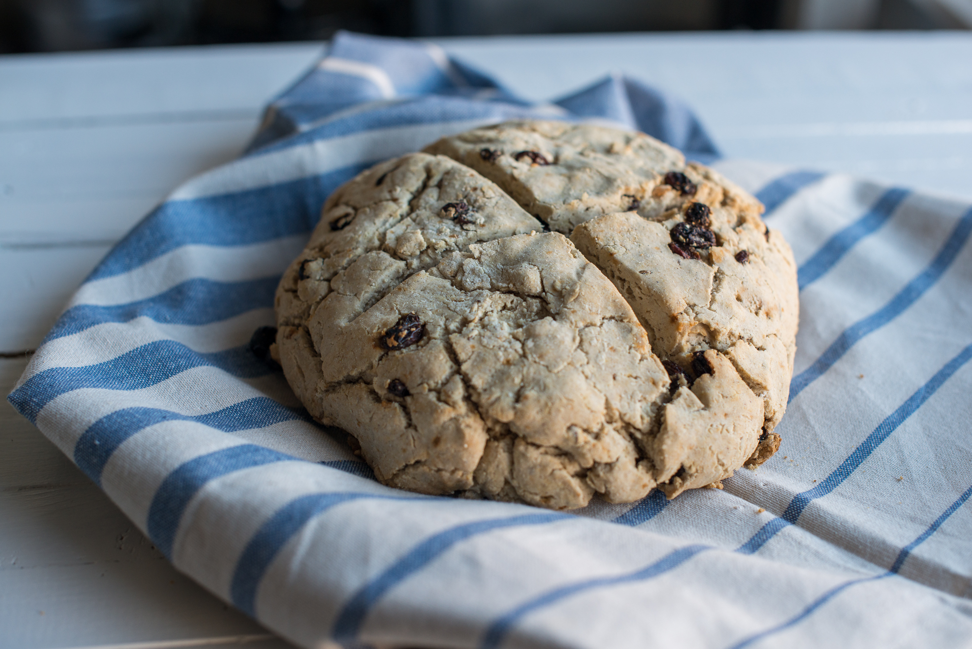 Irish Soda Bread (Gluten Free, Dairy Free)