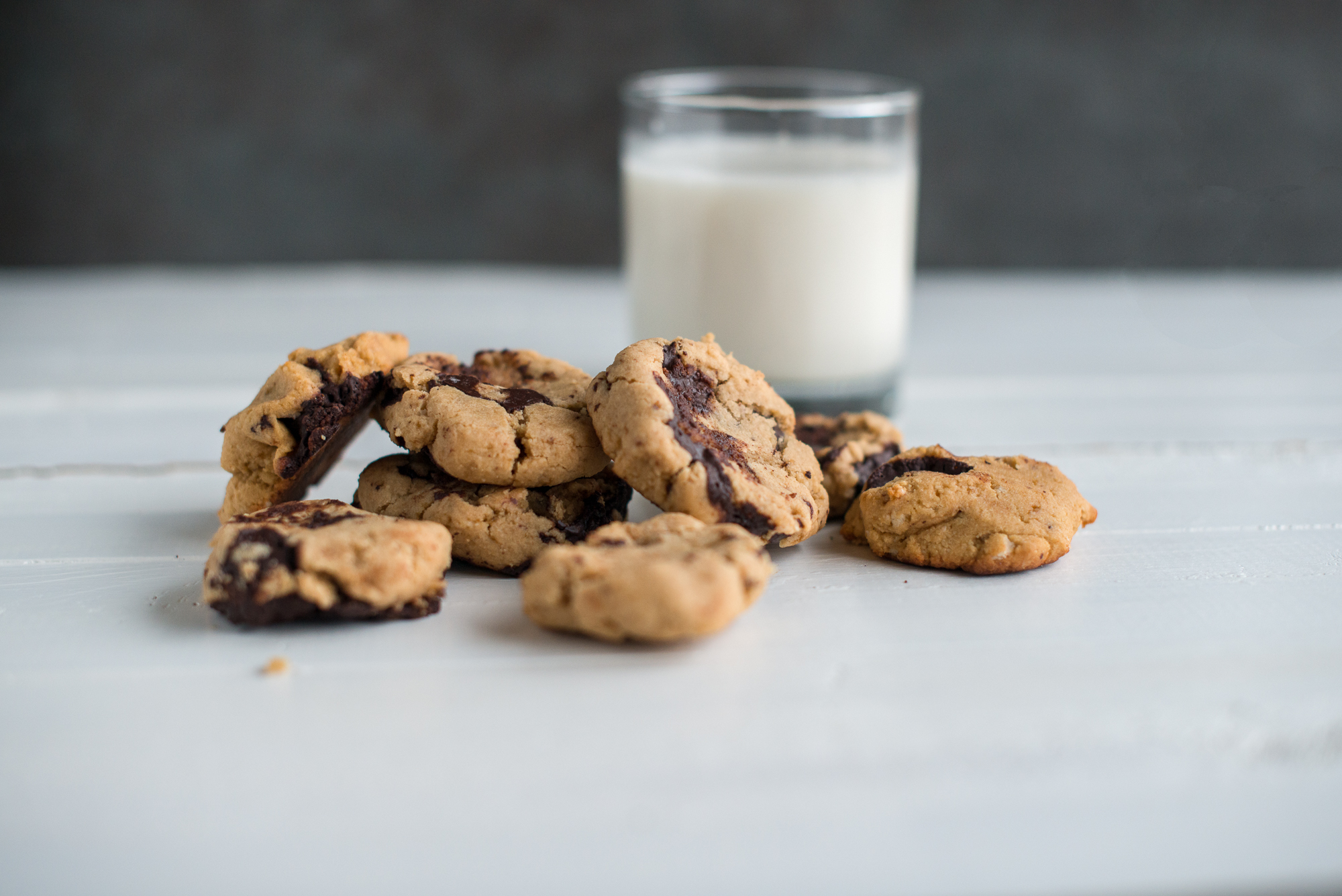 "Chocolate Chunk ""Peanut Butter"" Cookies (Gluten Free, Dairy Free, Peanut Free, Legume Free)"