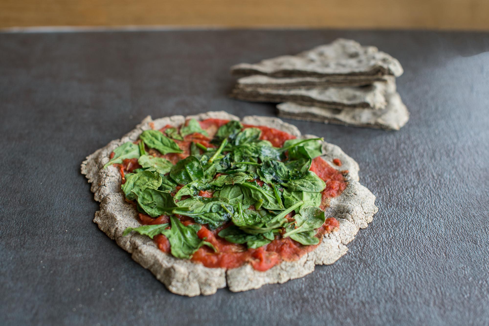 Gluten Free Pizza Crust/Flatbread (Gluten Free, Dairy Free)