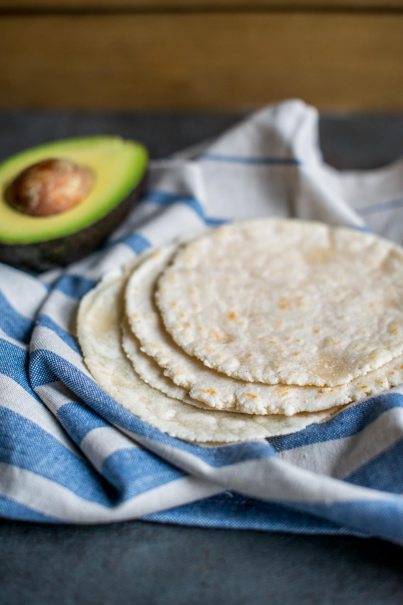 Almond Flour Tortillas (Gluten Free, Dairy Free)