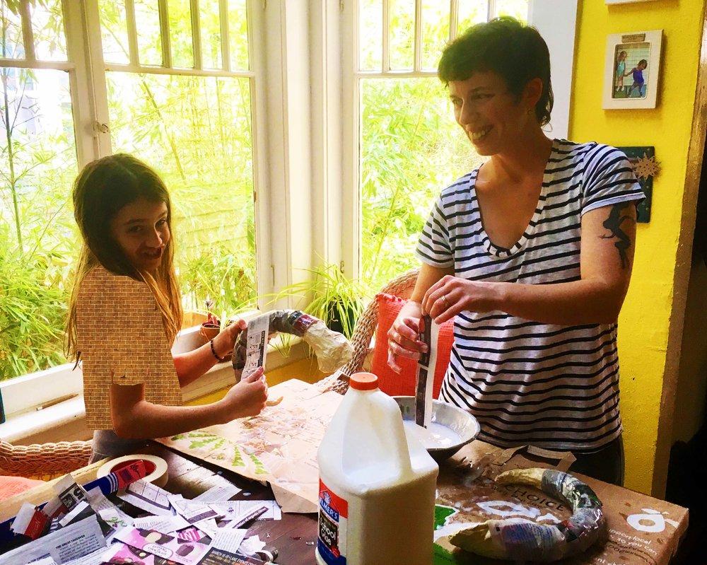 charlie & julia hahn make stuff