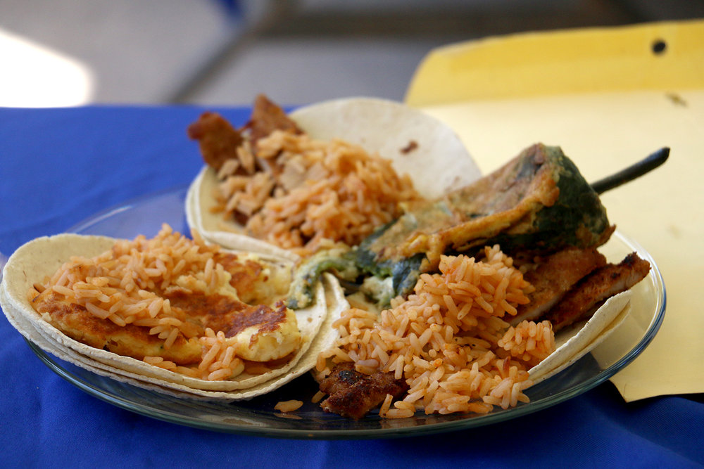 Tacos acorazados originarios del estado de Morelos.