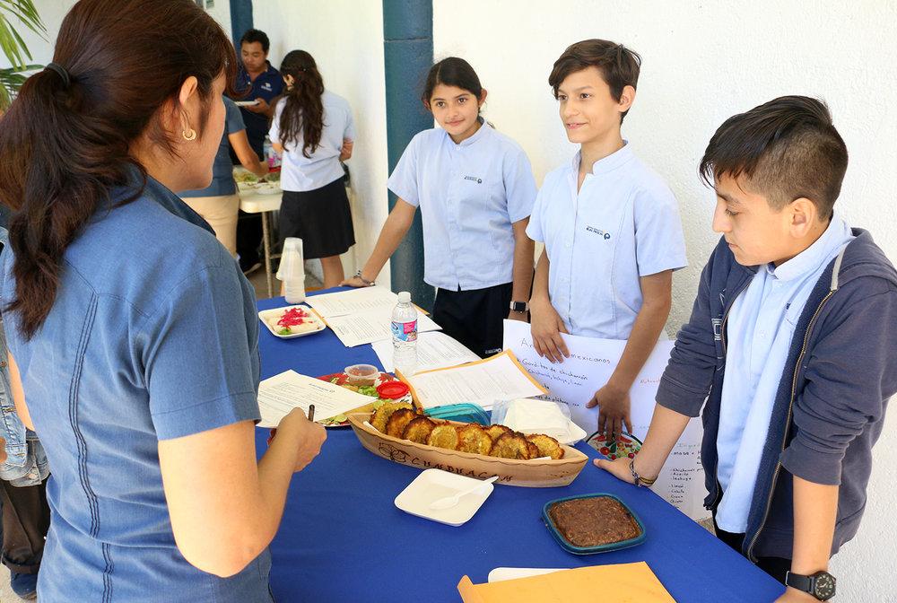 menú nutritivo escuela secundaria