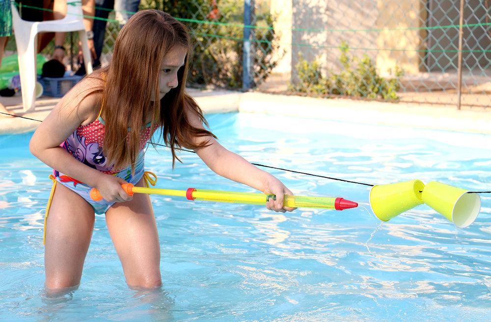 Juegos acuáticos Blas Pascal