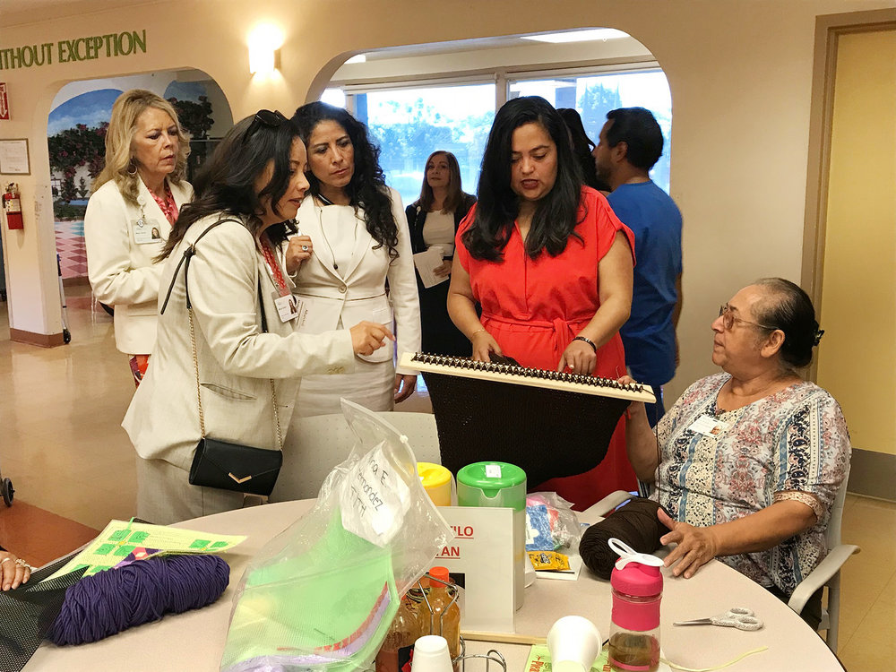 Community Health Center Tours - Chief Executive Officer of CaliforniaHealth+ Advocates, Carmela Castellano-Garcia, and Assistant Director of Legislative Afairs, Victor Christy have committed to connecting legislators with health centers in their districts to facilitate more health center tours. As a result, over the past year Advocates has had the opportunity to go on a number of health center tours alongside State Legislators and Members of Congress.