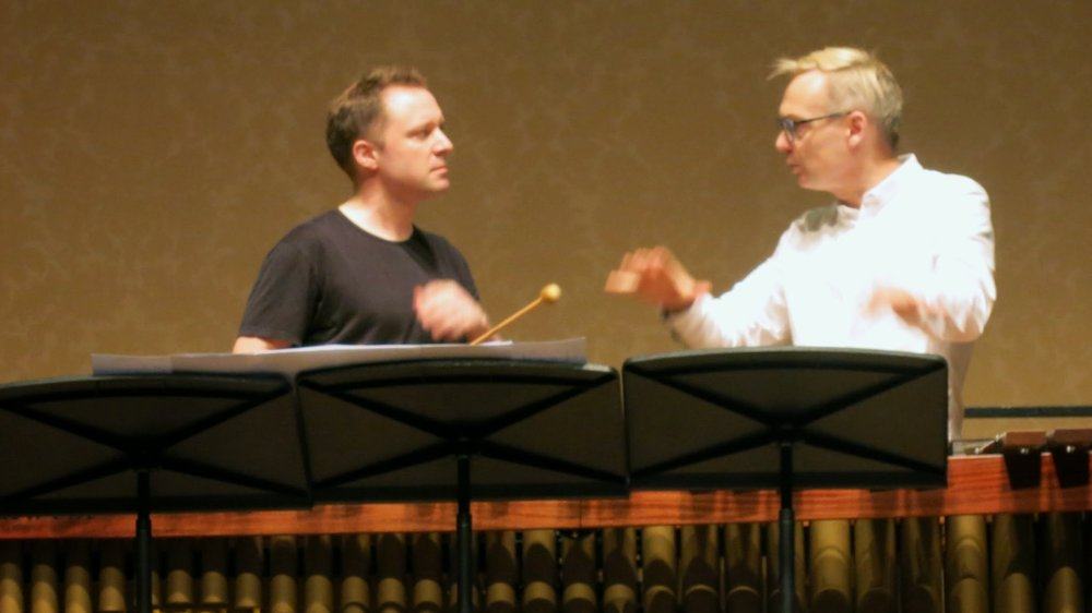 Copy of With Rolf Wallin discussing his new suite of marimba pieces inspired by Gabriel Garcia Marquez short stories.