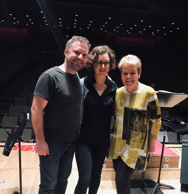 With Helen Grime and Marin Alsop ahead of the world premiere performance of Grime's Percussion Concerto at London's Southbank Centre